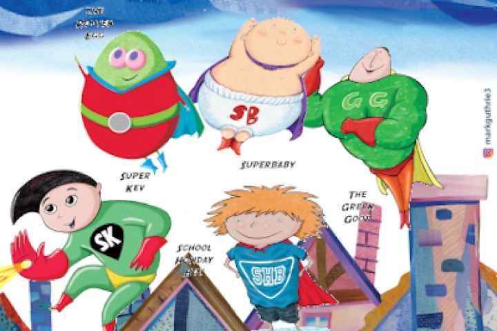 Shepparton Library - Superhero Cartooning Workshop