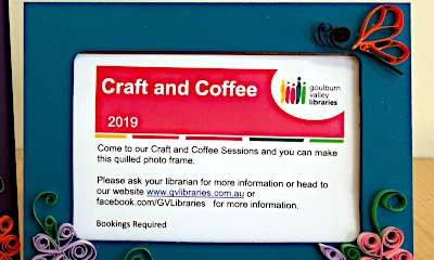 Shepparton Library - Craft & Coffee