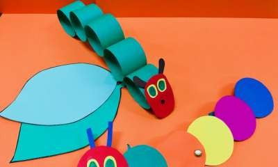 Nagambie Library - Hungry Caterpillar Craft