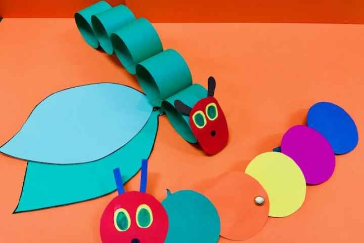 Nathalia Library - Hungry Caterpillar Craft