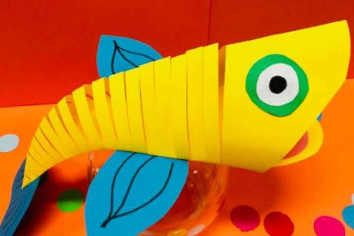 Nathalia Library - Moving Paper Fish