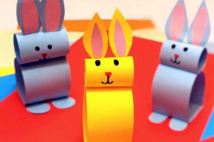 Mooroopna Library - Paper Bunnies