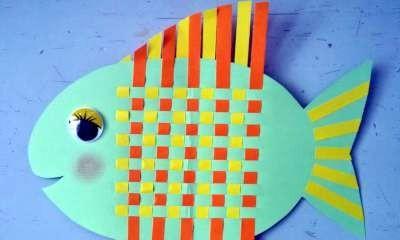 Shepparton Library - Fish Paper Weaving