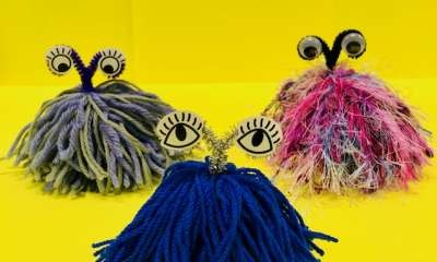 Shepparton Library - Yarn Monsters
