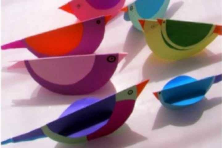 Violet Town Library - Rockin' Birds