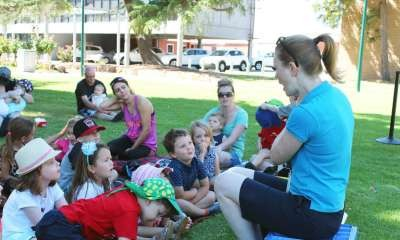 Shepparton Library - StoryTime in the Park!