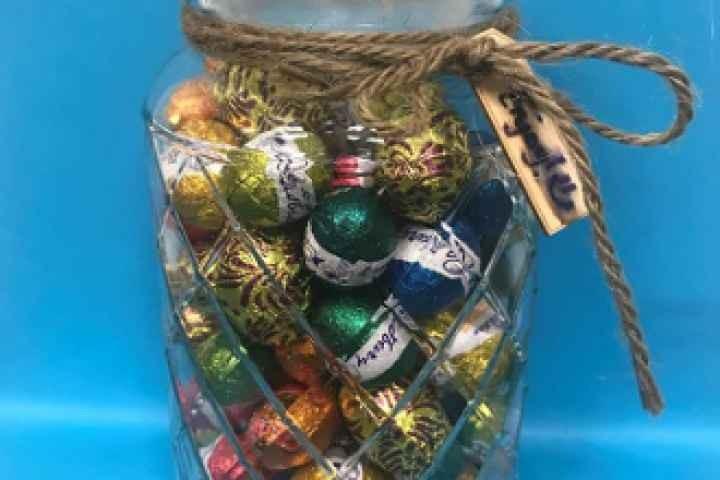 Cobram Library - Easter Egg Jar