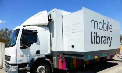 Mobile Library Off The Road